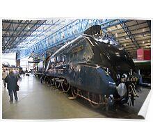 The Mallard at York Railway Museum 2010 Poster