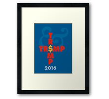 Who needs a running mate? Framed Print