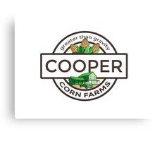Cooper Corn Farms - greater than gravity Canvas Print