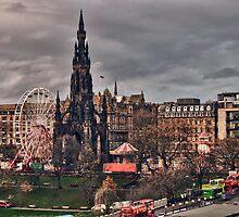 Edinburgh Scott Monument by MarceloPaz