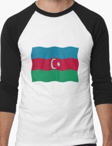 Azerbaijan flag Men's Baseball ¾ T-Shirt