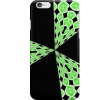 Retro Blast (black and green) iphone case iPhone Case/Skin