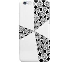Retro blast Black and White iphone case iPhone Case/Skin