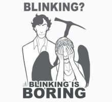 Sherlock Vs Weeping Angel by mycroftismight