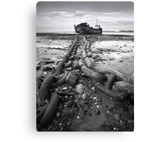 Yelland Quay Canvas Print
