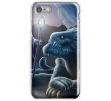 The sorceress and the dragon iPhone Case/Skin