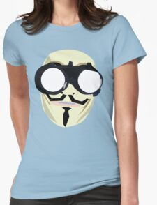 anonymous mask Womens Fitted T-Shirt