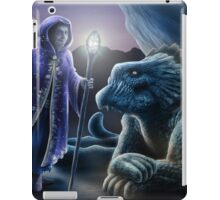 The sorceress and the dragon iPad Case/Skin