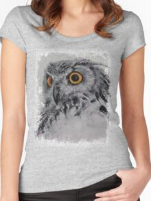 Spirit Owl Women's Fitted Scoop T-Shirt
