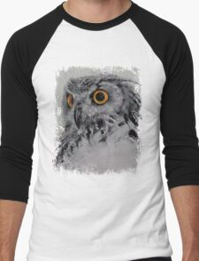 Spirit Owl Men's Baseball ¾ T-Shirt