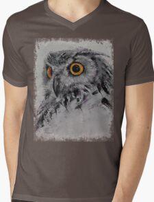 Spirit Owl Mens V-Neck T-Shirt
