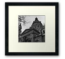St. Stephen's Basilica, Budapest Framed Print