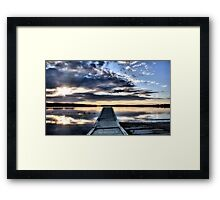 Is This What Heaven Looks Like ? Framed Print