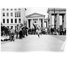 Busking in Berlin Poster