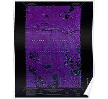 USGS Topo Map Washington State WA Scenic 243595 1965 24000 Inverted Poster