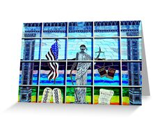 Lady Liberty (or We The People) Greeting Card