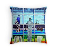 Lady Liberty (or We The People) Throw Pillow