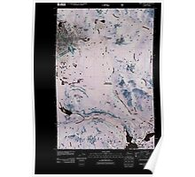 USGS Topo Map Washington State WA Spiral Butte 20110520 TM Inverted Poster