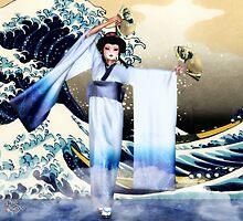 The Waves of Kanagawa by Axel-Doi