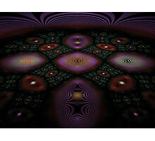 Fractal Fly-over Photographic Print