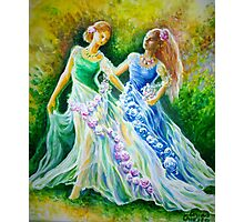 Two princesses Photographic Print