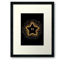 Invincible Starburst Framed Print