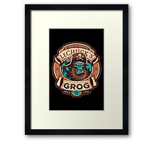 Ghost Pirate Grog Framed Print