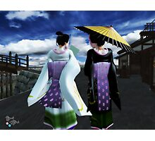 Streets of Edo Photographic Print