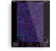 USGS Topo Map Washington State WA Loup Loup Summit 242081 2001 24000 Inverted Metal Print