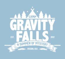 Camp Gravity Falls  Kids Tee