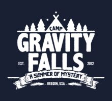 Camp Gravity Falls  Kids Tee