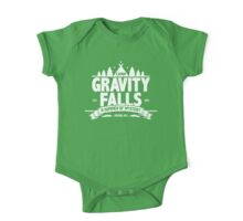 Camp Gravity Falls  One Piece - Short Sleeve