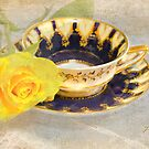 Antique Teacup by Patsy L Smiles