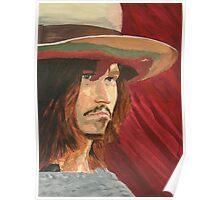 Johnny Depp by Lambertino Poster