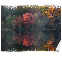 Autumn on Greenbelt Lake 1 Poster