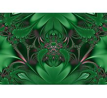 Metallic Green... Photographic Print