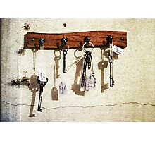 The Keys To A Few Important Things Photographic Print