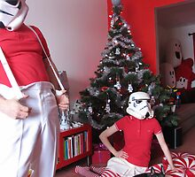 RedandJonny: Stormtrooper Christmas  by redandjonny