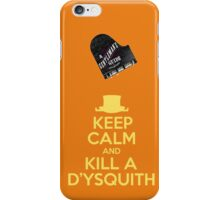 A Gentlemen's Guide to Love and Murder iPhone Case/Skin