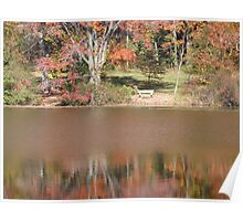 Autumn on Greenbelt Lake 4 Poster