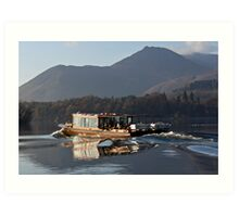 Derwentwater Launch Art Print