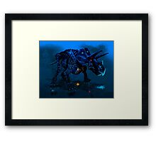 Trikeratos Framed Print