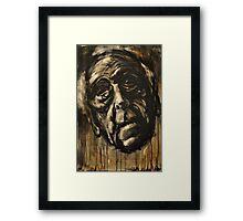 hwang pi - the wise vietnamese man Framed Print