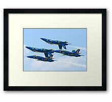 Double Farvel, with a twist Framed Print
