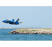 Blue Angel Solo barely lifts off  Photographic Print