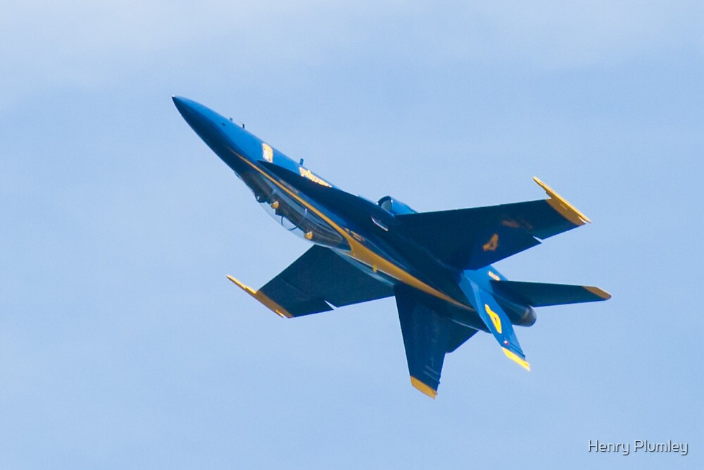 Blue Angels #4 inverted by Henry Plumley