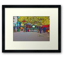 Metro in the Bastille, Paris Framed Print