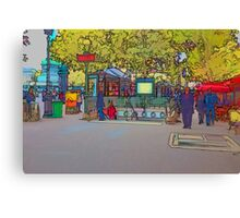 Metro in the Bastille, Paris Canvas Print