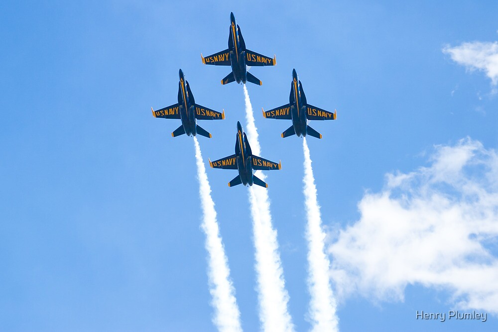 Blue Angels Diamond Belly Shot by Henry Plumley