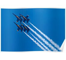 Blue Angels Diamond Loop Poster